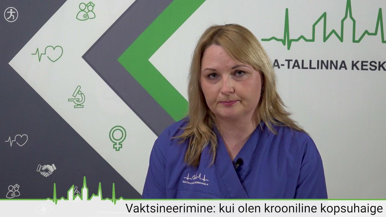 Vaktsineerimine: kui olen krooniline kopsuhaige