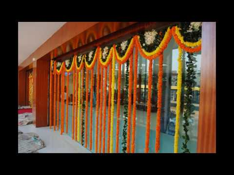 How To Make Marigold Banthi Poolu String Flowers With Cotton Tread For Wedding Home Decoration