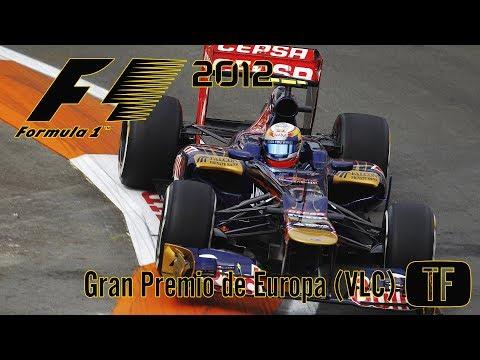 F1 2012 - Gran Premio de Europa (Circuito de Valencia)