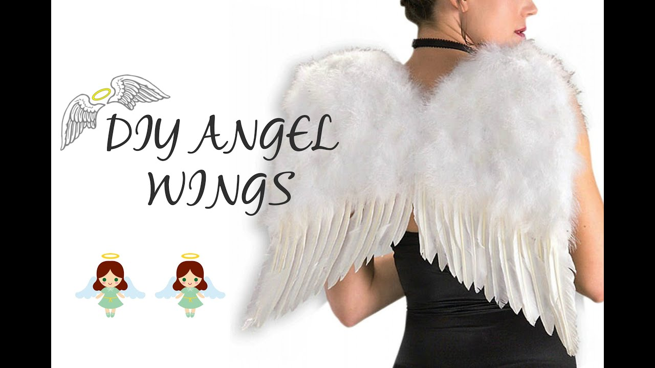 DIY Angel Wings - YouTube