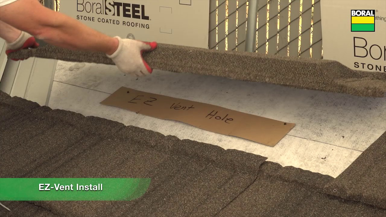 bor roofing boral steel chapter 12 pine crest shake ez vent youtube