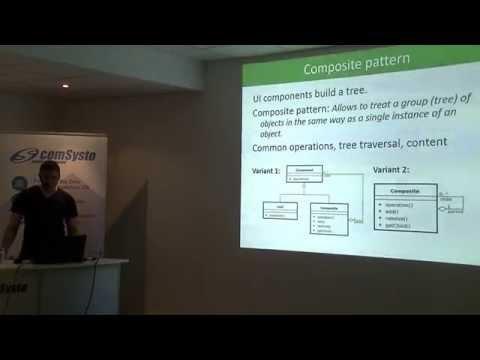 How to design a UI class - Talk by Johannes Döbler