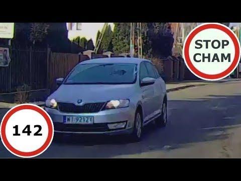 Stop Cham #142- Niebezpieczne i chamskie sytuacje na drogach
