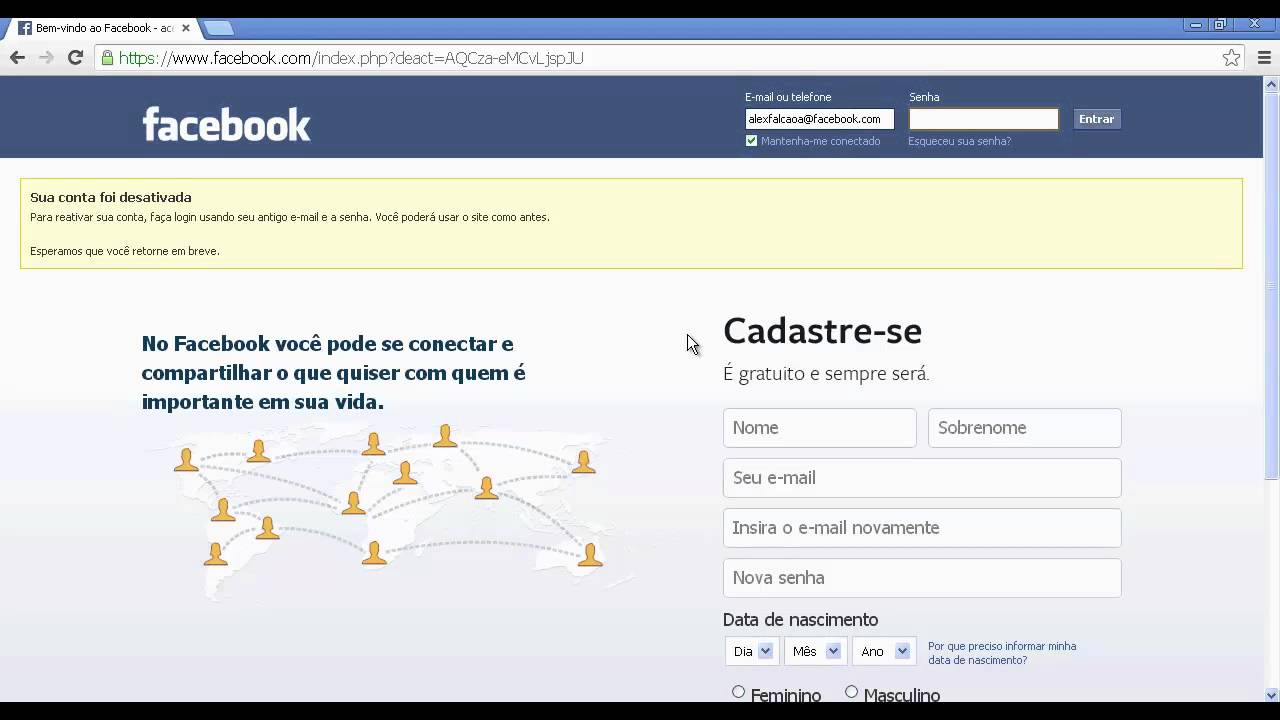 Como Excluir A Conta Do Facebook Definitivamente Youtube