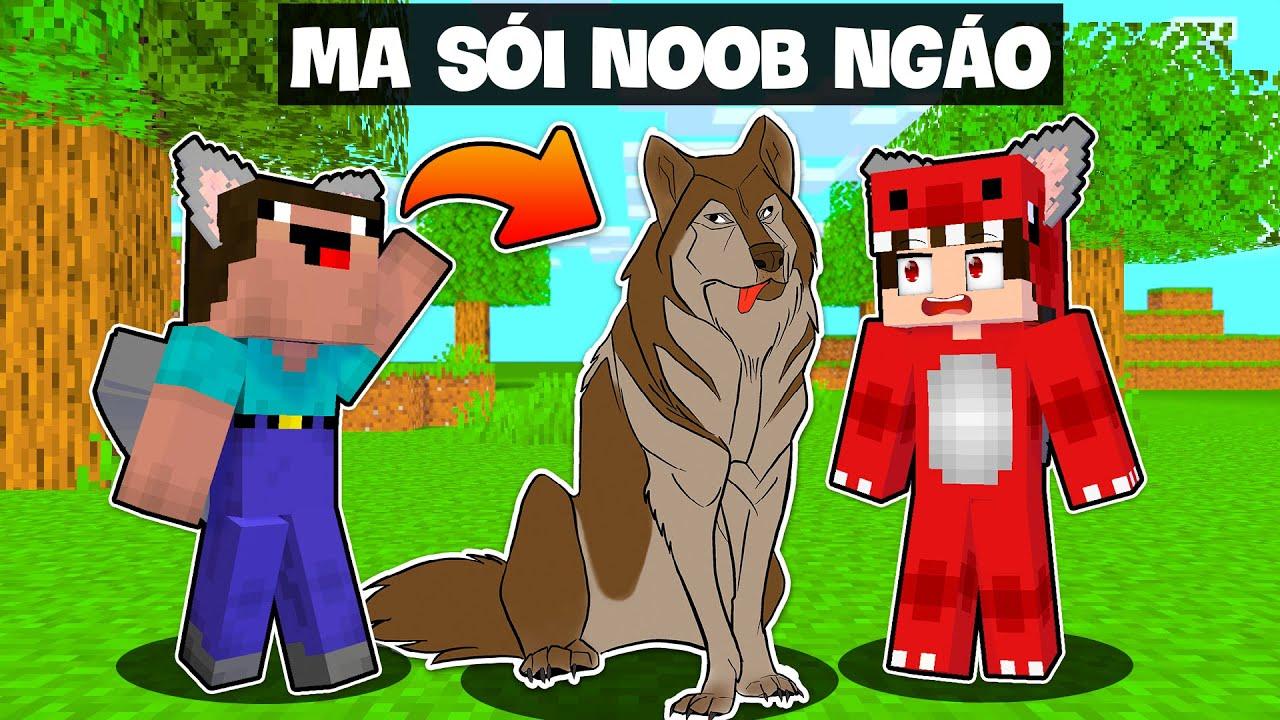 Nếu Noob Trở Thành Ma Sói Trong Minecraft Sẽ Ra Sao ?   Rex Bất Ngờ Khi Noob Sở Hữu Sức Mạnh Ma Sói