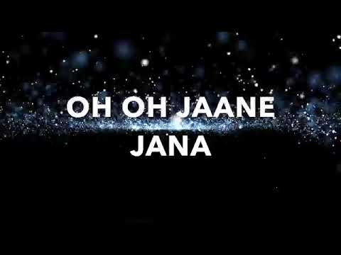 Oh oh Jane Jana lyrics