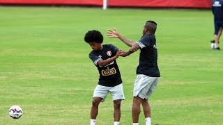 Copa América: Jefferson Farfán bromeó sobre el peinado de Yordy Reyna
