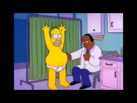 [THE SIMPSONS] Homer's check - up with Dr. Hibbert