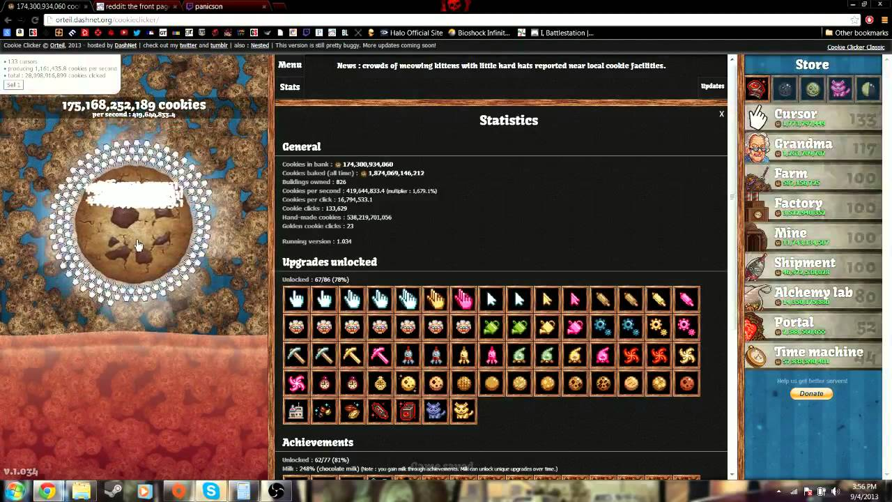 Cookie Clicker Test