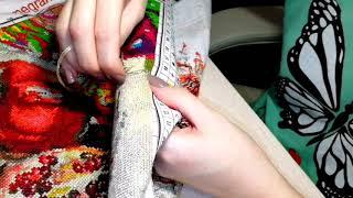 Вышивка крестом Вышивальная болталка Эстафета Болталка