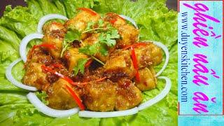 Cách Làm ĐẬU HỦ KHO TƯƠNG By Duyen's Kitchen | Ghiền Nấu Ăn