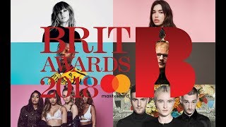 BRIT AWARDS 2018 Winners & Nominations