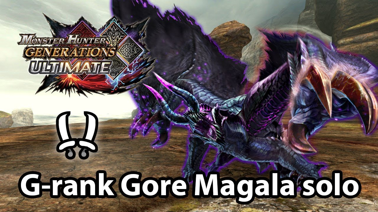 Mhgu G Rank Gore Magala Solo Striker Dual Blades 3 52 Youtube You can play around with this set towards your liking. mhgu g rank gore magala solo striker dual blades 3 52