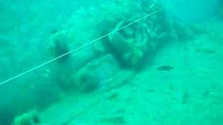 Scuba Diving U-352, German U-Boat.