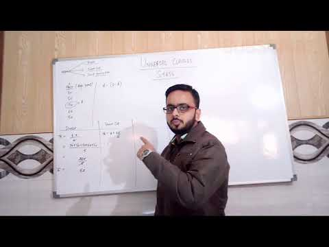 Mean, Mode, Median :- Mean (Part- 1) by Universal classes