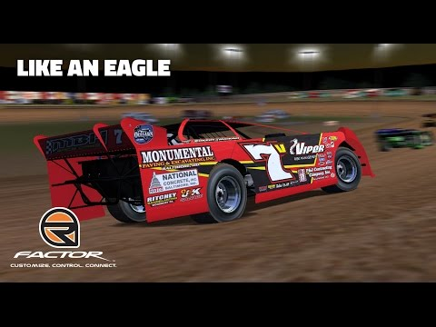 rFactor: Like an Eagle (Late Models @ Eagle Raceway)