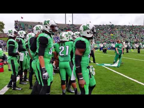 Marshall Thundering Herd takes the field