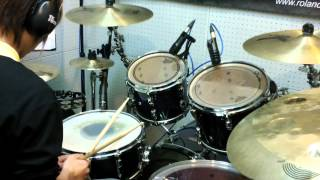 Mayday 五月天 星空 Drum Cover By �...