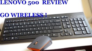 Lenovo 500 wireless chicklet keyboard, mouse (GX30H55793) Review - Best cheap wireless combo