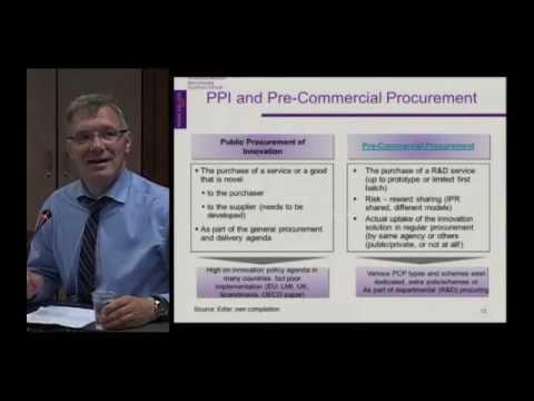 SEA-EU-NET public procurement for innovation workshop - 3 - Characteristics, benefits, risks