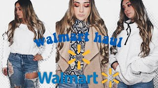 Fall/winter Walmart Clothing Haul   Try On 2019