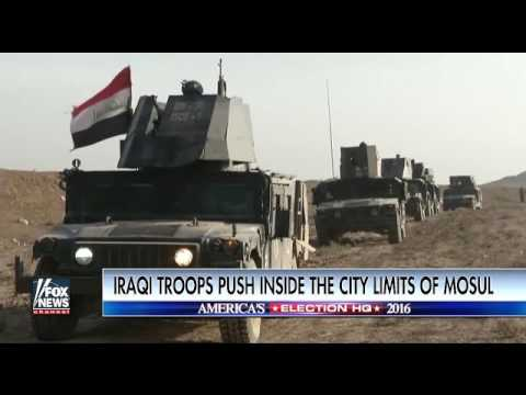 Iraqi Troops enter City Limits Of Mosul