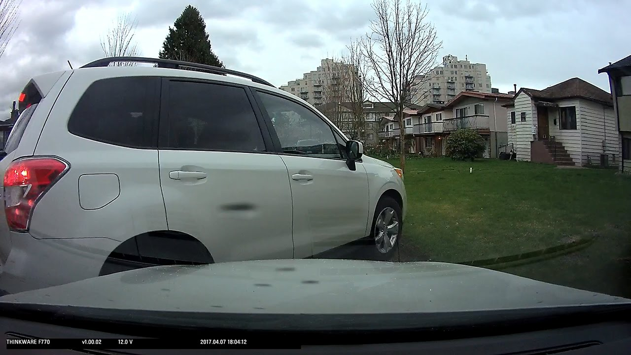 dashcam parking mode captures lady scraping my car youtube. Black Bedroom Furniture Sets. Home Design Ideas