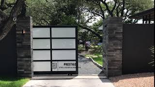 Custom Automatic Sliding Gate