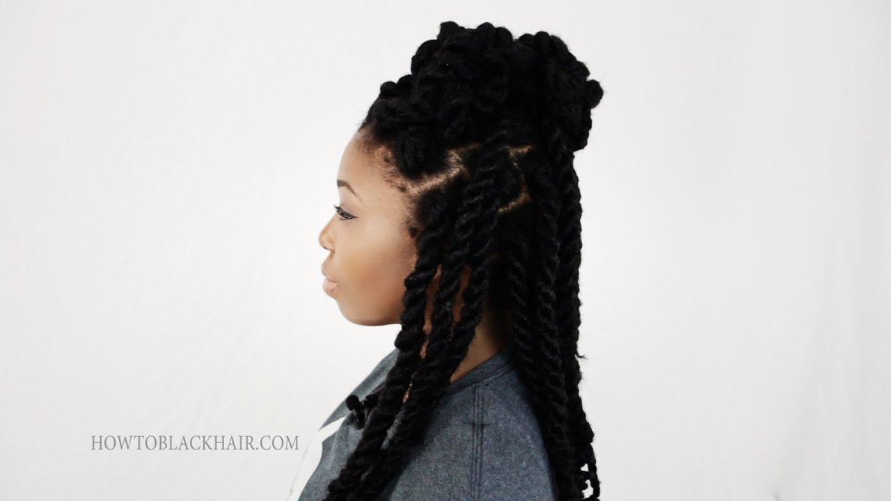 styling ethnic hair hairstyles for twists 3 styles for black ethnic 3672
