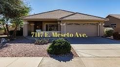 Welcome To 7117 E Meseto Ave Mesa AZ 85209