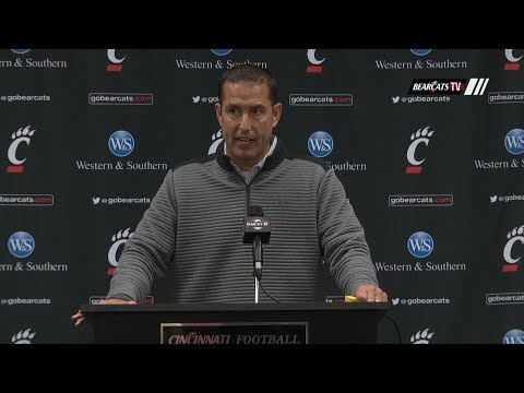 Coach Luke Fickell Previews Battle For The Victory Bell Against Miami