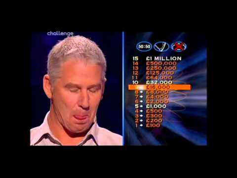 Series 8 Who Wants to be a Millionaire 21st October 2000