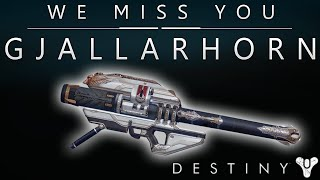 We Miss You Gjallarhorn!! We Miss Year one!