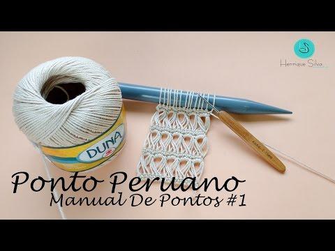 Crochê Peruano - Manual De Pontos 1 - Henrique Silva TV