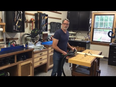 Dust Free Wood Shop Tour - Featuring Custom Mobile Bases And Cavity Storage!