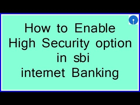 enable online banking sbi account