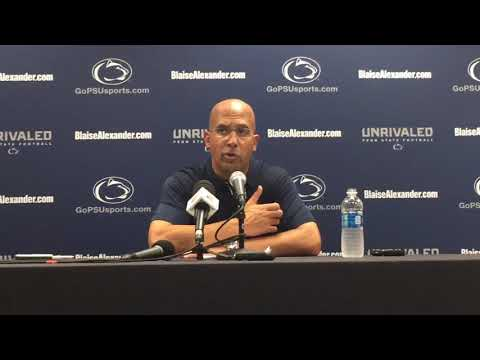 Penn State's James Franklin discusses win over Iowa