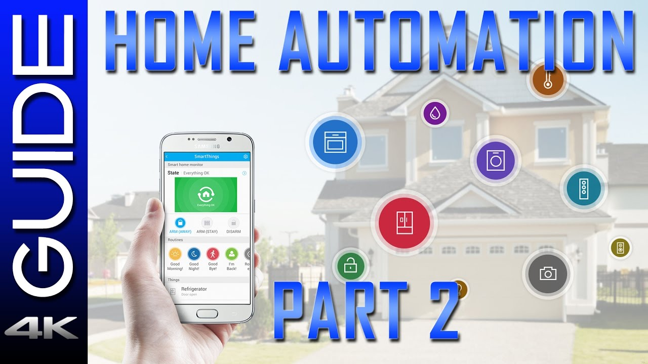 Home Automation Guide 2017 - Part 2 - Z-Wave Tutorial, SmartThings ...