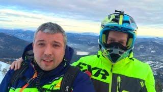 Путешествие на снегоходах в Шерегеш. Часть первая!(https://vk.com/id327822014 https://www.skandiokna.com., 2016-12-22T19:29:53.000Z)