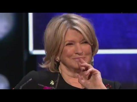 Martha Stewart roasts ... like you've never seen before