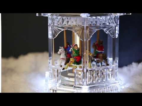 Battery Christmas Musical Carousel - LB162022