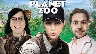 Wir testen die Beta-Version  | Planet Zoo mit Kiara, Marah & Steffen