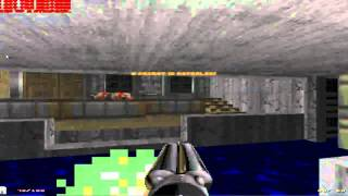 dOOM II Level 2: Underhalls 100 kills 100 items 100 Secrets. Shotgun Massacre!
