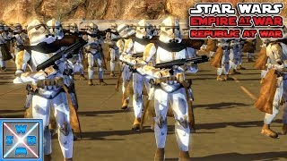 Die 327th auf Utapau! - Lets Play Star Wars Empire at War - Republic at War Mod #12