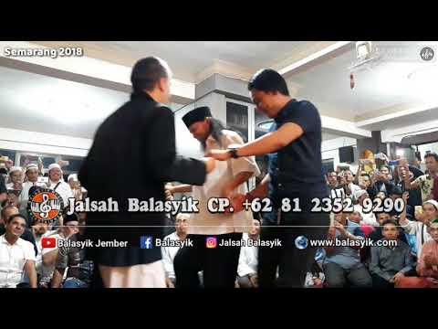 CARLY Van Housten MERINDING DENGAR SUARA ABDULLAH TA'LAB- Jalsah Balasyik| live Semarang 2018