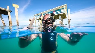 Exploring House in the Middle of the OCEAN!! (Rare house)