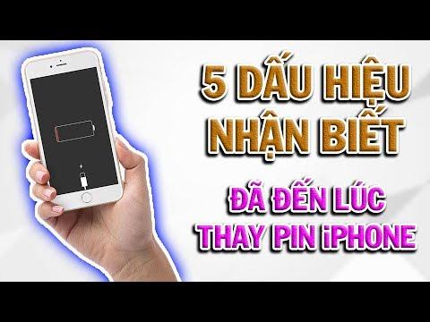 5 Dấu hiệu nhận biết iPhone chai Pin, Cần thay Pin gấp để tránh cháy nổ