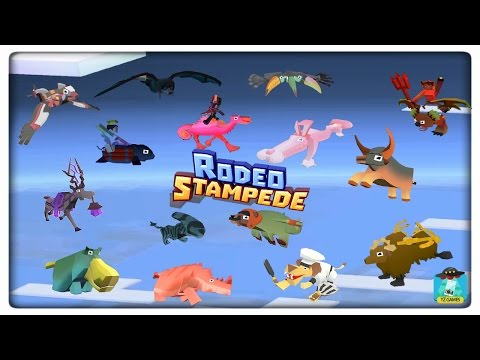 How to unlock ALL SECRET ANIMALS in rodeo stampede!!! 17 SEC