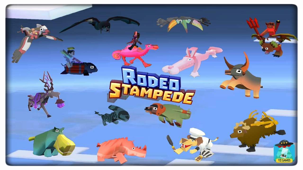 How To Unlock All Secret Animals In Rodeo Stampede 17