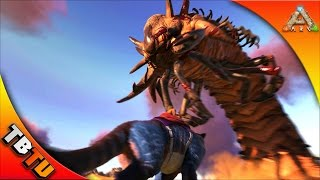Ark THYLACOLEO VS DEATH WORM! HOW TO KILL A DEATH WORM! ARK Scorched Earth - DEATH WORM FARMING!